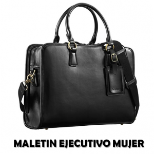 comprar maletin ejecutivo mujer barato piel